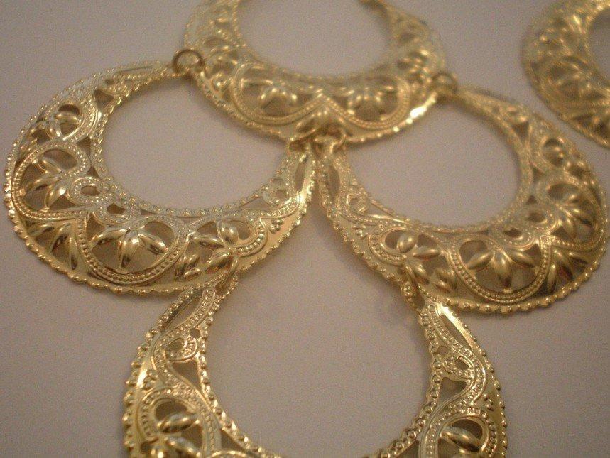Vintage Glamour Style Earrings
